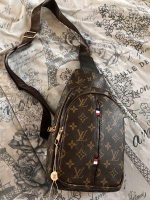 Louis Vuitton ( Designer impression ) Sling Bag , Chest bag , Cross Body bag for Sale in Erial, NJ