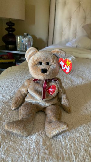 Hyper Rare! 1999 Signature Beanie Baby /w Tag Errors for Sale in Ladera Ranch, CA