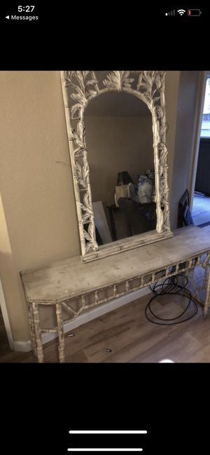 Entry table with mirror for Sale in San Jose, CA