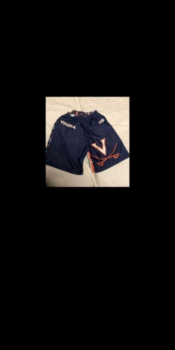 UVA youth shorts size small