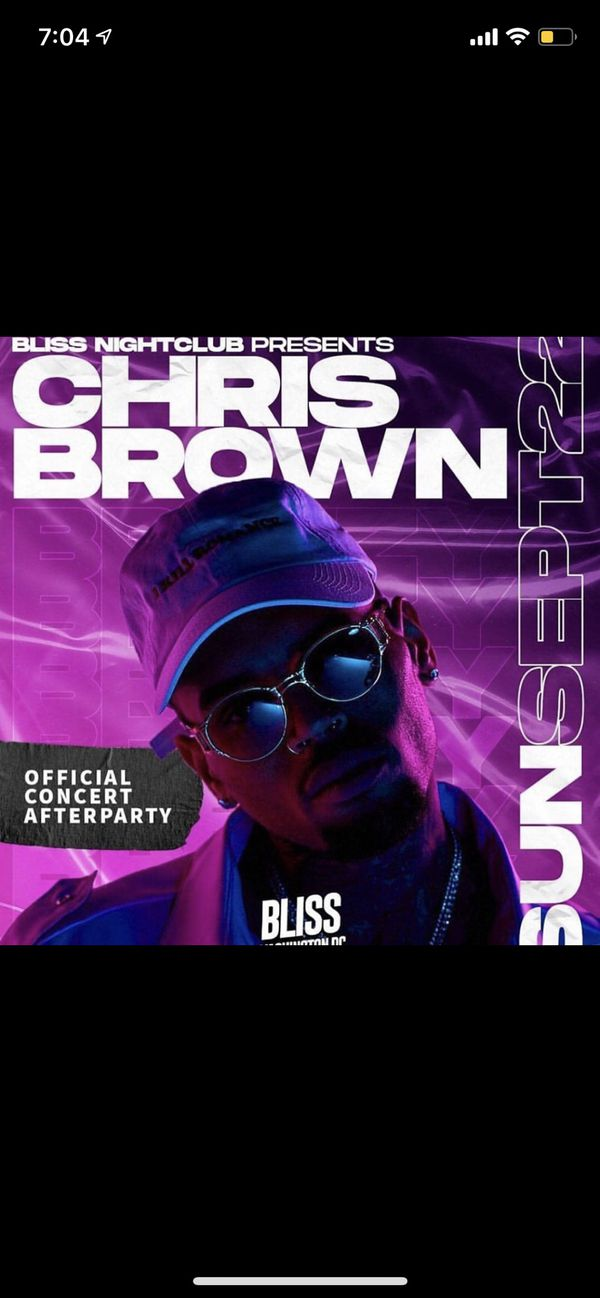 Chris Brown Live Indigoat Tour After Party