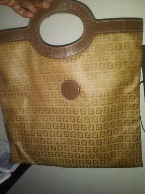 Authentic yesiam Vintage Fendi Shopper Bag for Sale in Vallejo, CA
