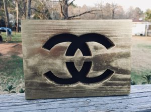 Double C Wood Sign w/hanger for Sale in Center Point, AL