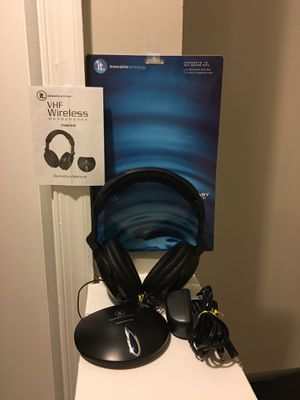 Innovative Technology ITHW-858 wireless headphones for Sale in Woodlawn, MD