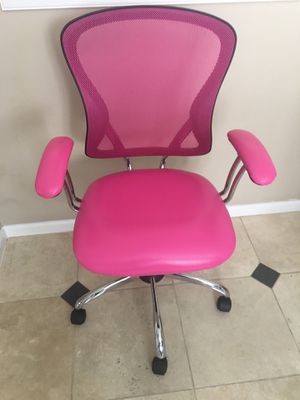 Super sassy pink office chair for Sale in Phoenix, AZ