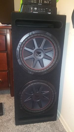 Dual 12in kicker comp vr subs for Sale in Montclair, CA