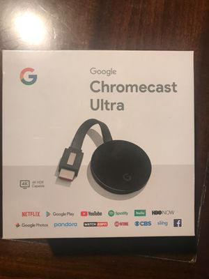 Chrome cast. Ultra for Sale in Richmond, CA