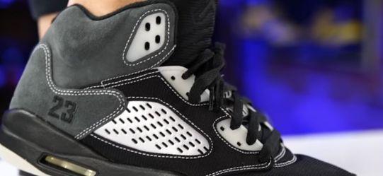 Air Jordan 5 Retro Anthracite Size 10.5 for Sale in Las Vegas,  NV