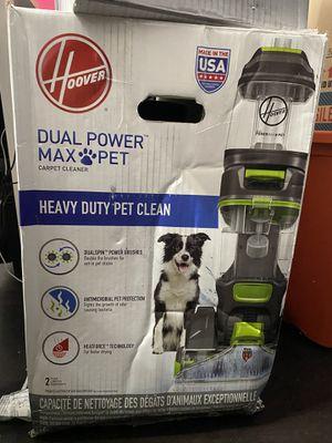 Hoover dual powermax pet vacuum shampoo for Sale in Fontana, CA