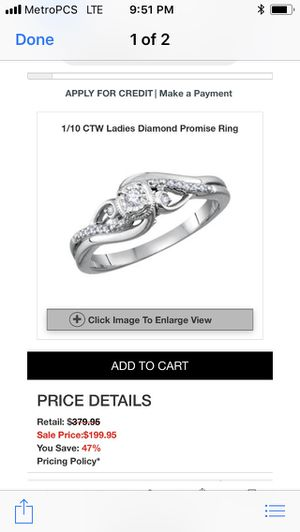 Ring for Sale in Phillips Ranch, CA