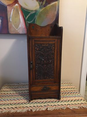 Antique Edwardian Smokers Cabinet for Sale in Sugar Land, TX