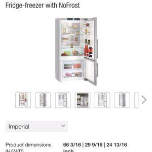 "30"" Stainless Steel Refrigerator W/freezer On Bottom for Sale in Santa Ana, CA"