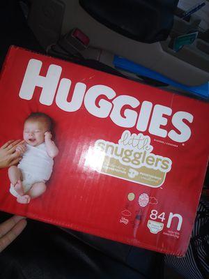 Huggies Newborn Diapers for Sale in St. Petersburg, FL