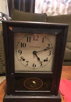Mantel clock antique for Sale in Portland, OR