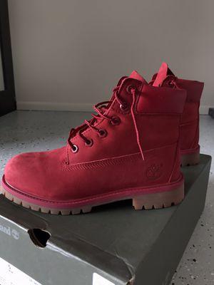 Timberland Premium 6in waterproof boot medium red nubuck for Sale in Kissimmee, FL