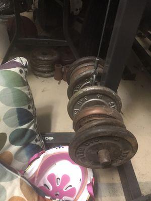 Full gym set up for Sale in Pembroke Pines, FL