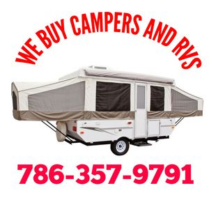 Are selling your camper or rv? for Sale in Hialeah, FL