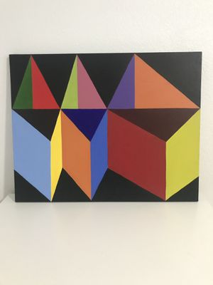 Abstract Geometric - Colorful Wall Art for Sale in Dallas, TX