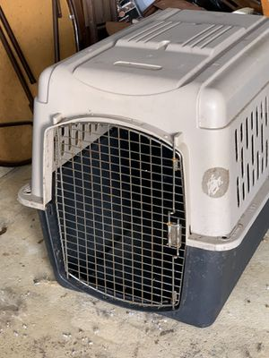 LARGE DOG CRATE for Sale in Port St. Lucie, FL