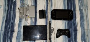 Nintendo Wii U (Black) | 32 GB w/ Pro Controller & 5 Games for Sale in Pasadena, CA