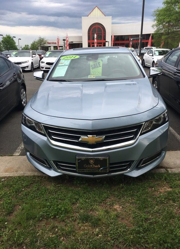 2014 Chevy Impala Ltz nav and leather