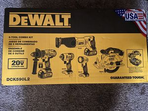 BRAND 5 Tool 20V Max power tool combo kit with soft case for Sale in Westland, MI