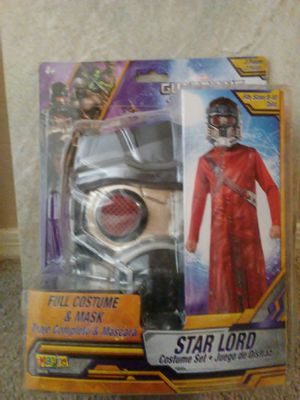 New kids costume Size 8-10. Star Lord Guardians of Galaxy. Firm. Deer vly 67th ave pikup for Sale in Glendale, AZ