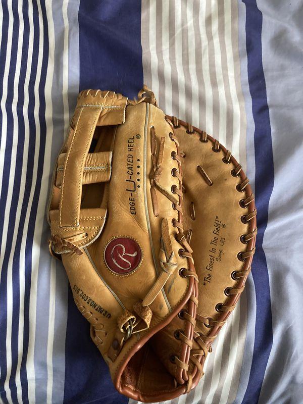 Rawlings left handed baseball glove fastback model