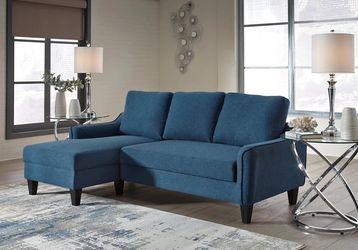 Jarreau Blue Sofa Chaise Sleeper for Sale in Houston,  TX