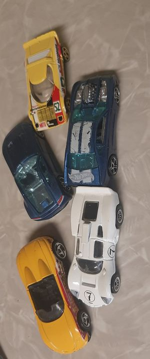HOTWHEELS LOT OF 5 for Sale in Peoria, IL