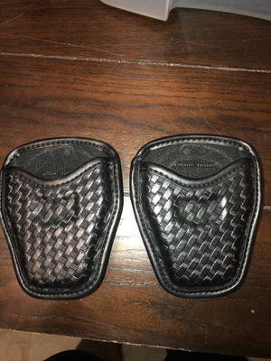 Bianchi open top handcuff case basketweave for Sale in Pomona, CA