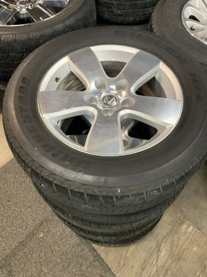 Dodge Ram wheels and tires 20 inch for Sale in Mesquite, TX