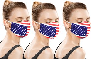 AMERICAN SMALL BUSINESS LA LEELA 2 Layers USA Patriotic Print Unique Mouth Mask Face Cover Washable Reusable Adjustable Face Mask Red_V940 for Sale in Fort Lauderdale, FL