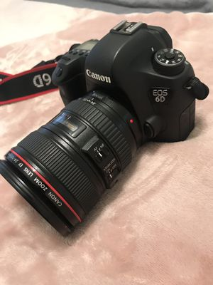 Canon 6D with a 24-105 L lens for Sale in Miami, FL