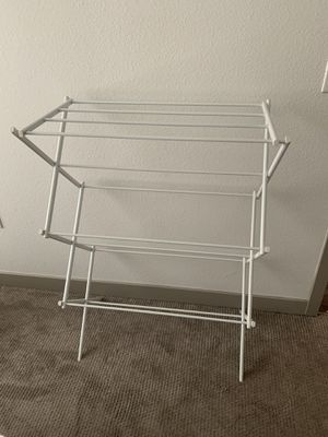 Foldable clothes rack for Sale in Denver, CO