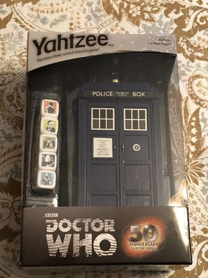 New Doctor Who Yahtzee Sealed Never Used for Sale in Spring Hill, FL