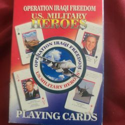 Operation Iraqi Freedom Playing Cards for Sale in North Port,  FL