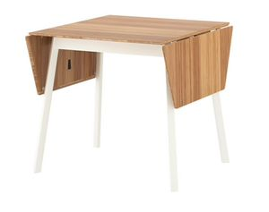 Ikea Bamboo Drop Leaf Table for Sale in Detroit, MI