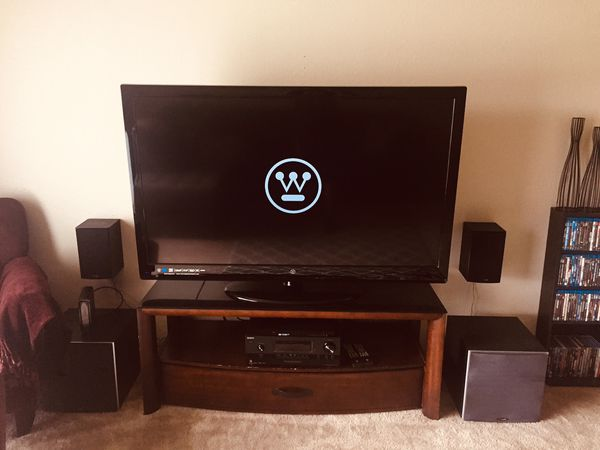 Westinghouse 60 inch lcd+ tv stand