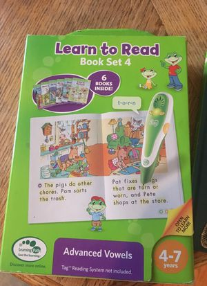 Leap frog. Tag reading system for Sale in Gainesville, VA