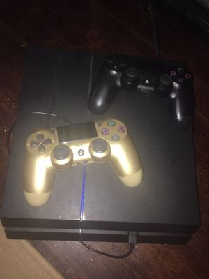 PS4 for sale comes w 2 remotes AND 6 online games for Sale in Richmond, VA