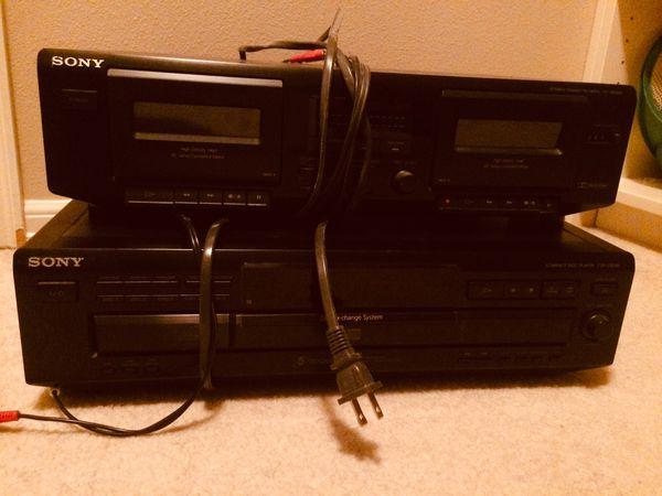 Sony 5 changer CD player