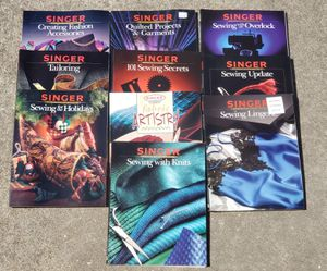 Singer sewing books for Sale in Katy, TX