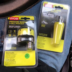 Turbo Nozzle And 5 In 1 Nozzle for Sale in San Antonio, TX