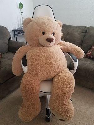 Giant caramel teddy bear for Sale in YSLETA SUR, TX