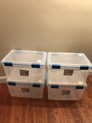 Set of 4 sterling gasket box for Sale in Tinley Park, IL