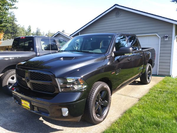 Ram 1500 Black Headlights