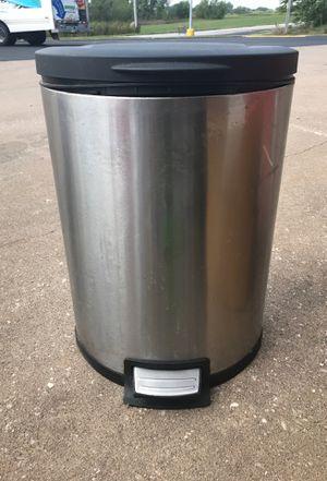 Stainless steel trash bin for Sale in Eldridge, IA