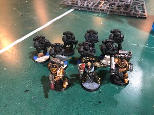 Warhammer 40k space marine tactical squad for Sale in Wayne, IL