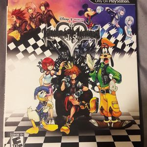 Kingdom Hearts HD 1.5 Remix Complete Sony PlayStation 3 PS3 Game for Sale in Kissimmee, FL